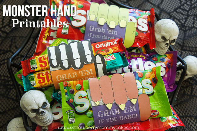 FREE Monster Hand Printables #SweetOrTreat #CollectiveBias #shop