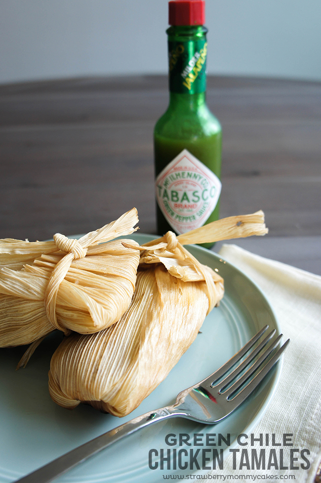 Green Chile Tamales Holiday Party Recipes
