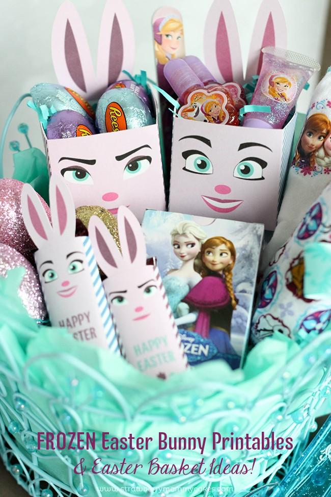 Easter Bunny FROZEN Printables