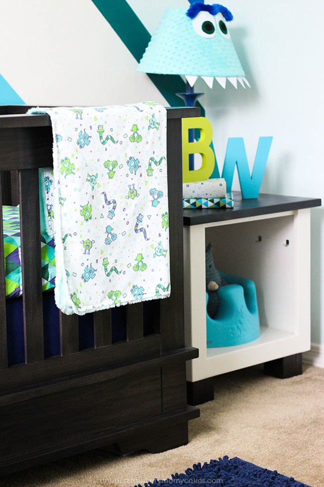Baby Boy Monster Room Reveal