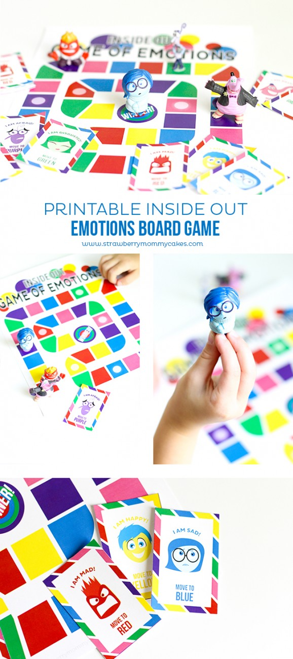 Inside Out games long pin collage