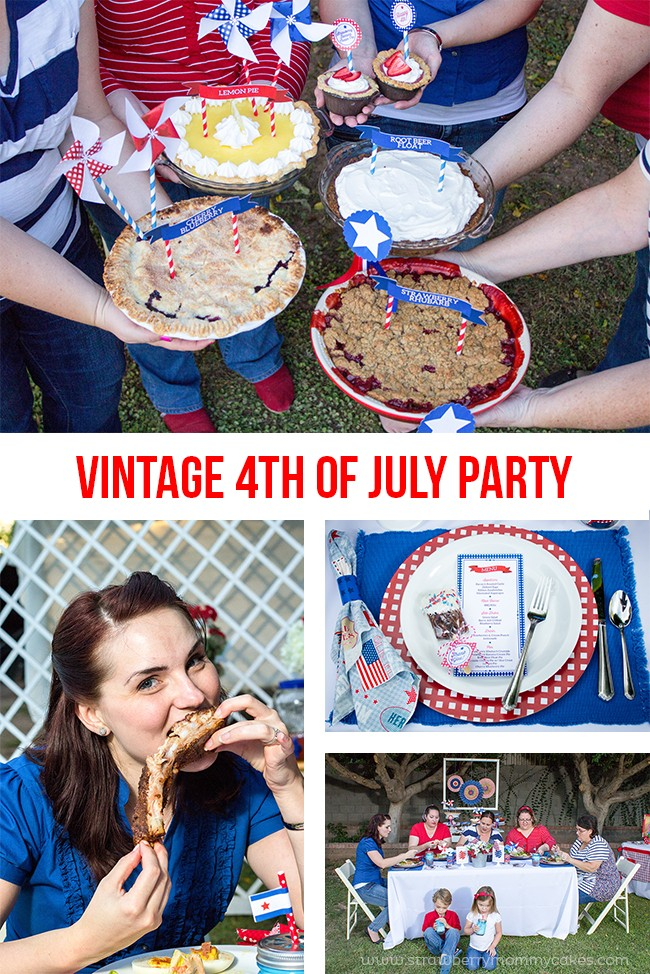 Vintage 4th of July Party