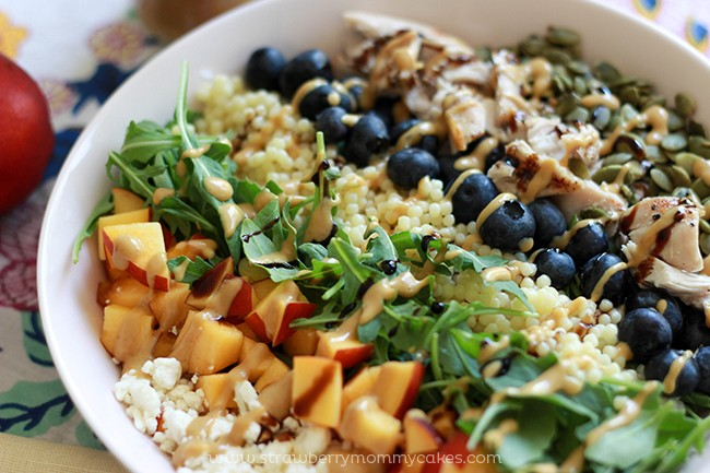Nectarine Summer Salad Recipe