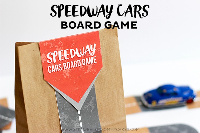 Your kids will love playing this Speedway Cars Board Game!