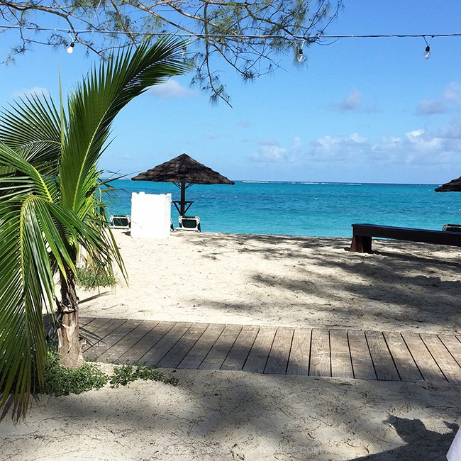 Pic of beach boardwalk for things to do in Turks and Caicos
