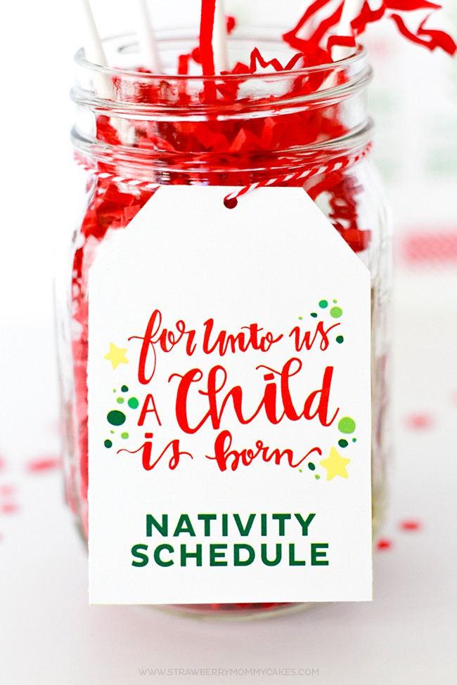 5 Days of Nativity Scriptures with FREE Printables