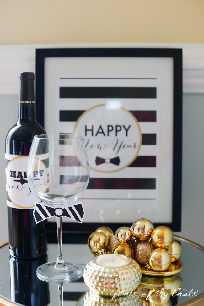 21 Classy New Year's Eve Free Printables on strawberrymommycakes.com