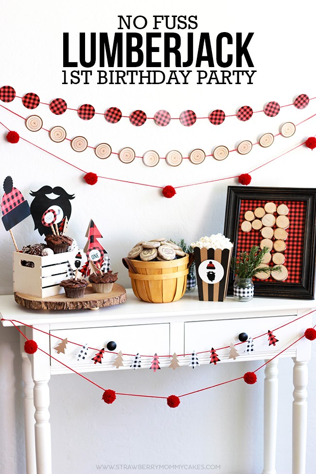 How To Throw A No Fuss Lumberjack Birthday Party