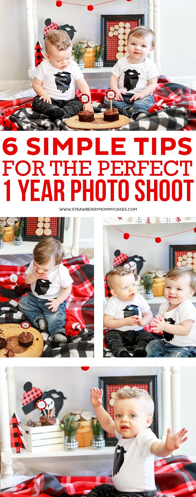 6 Simple Tips for the Perfect One Year Photo Shoot