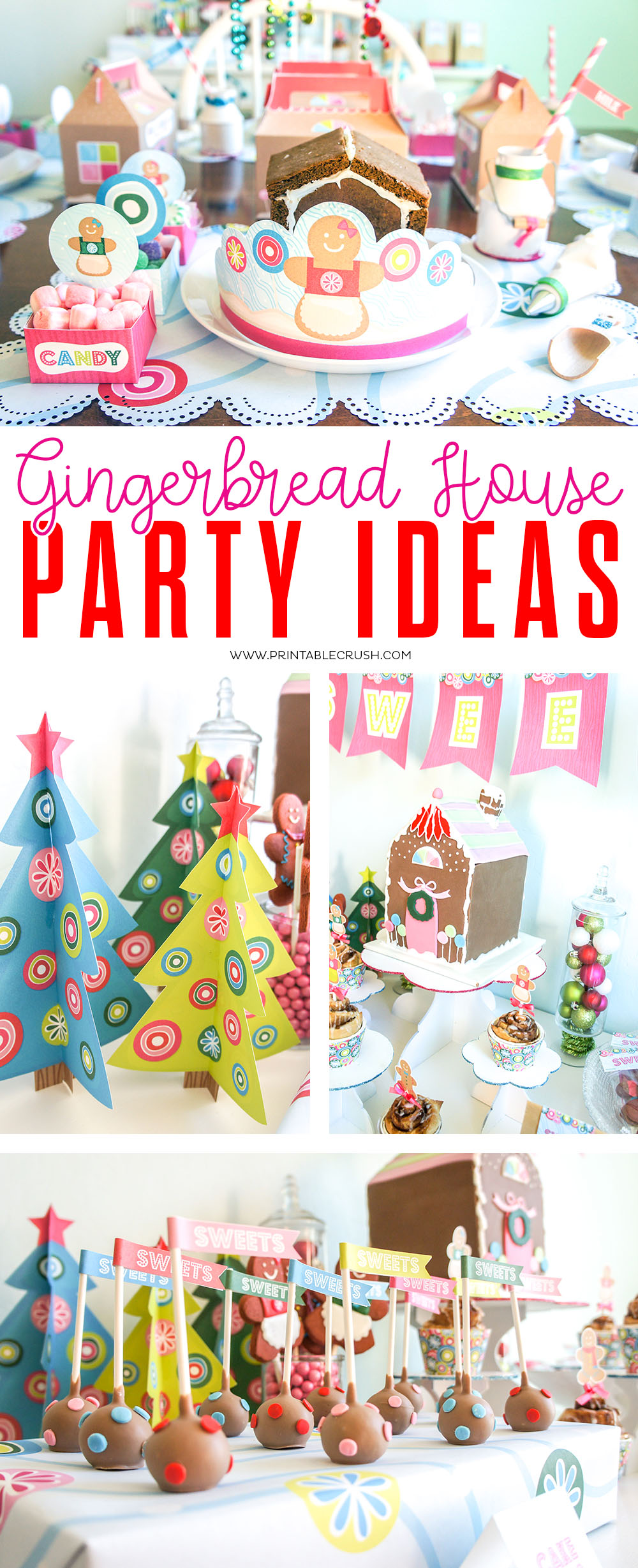 Celebrate the holidays with these Gingerbread House Party Ideas!