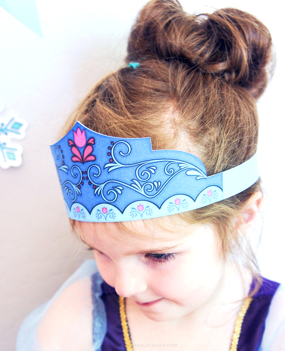 Anna Crown Free Printable