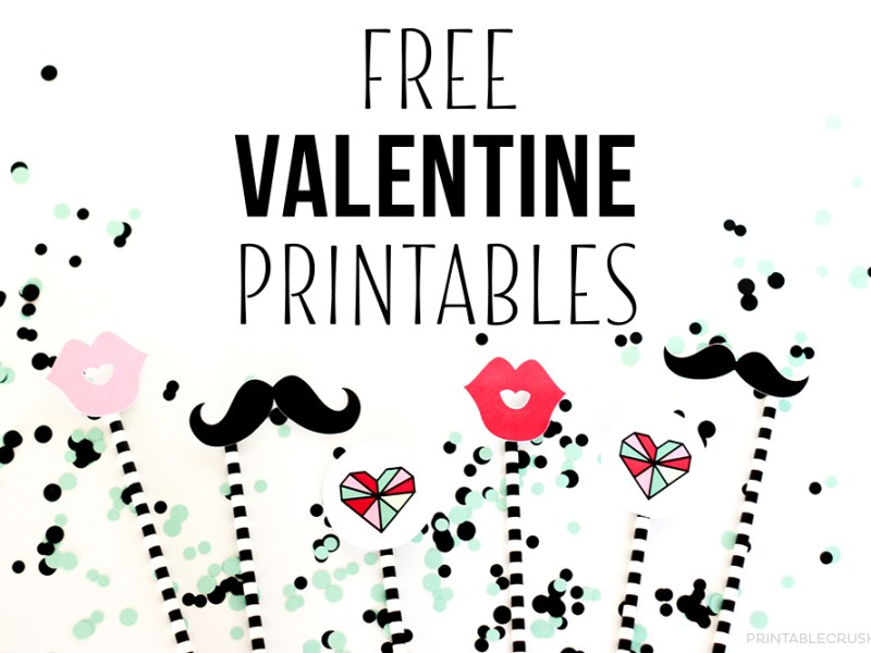 FREE Valentine Printables from Printable Crush