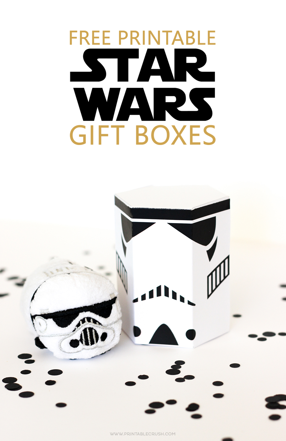 These FREE Star Wars Printable Gift Boxes are perfect for the Star Wars fan in your life. You can fill them with treats, presents or cute Tsum Tsums!