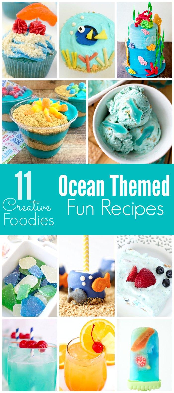 11 adorable Ocean Themed Recipes