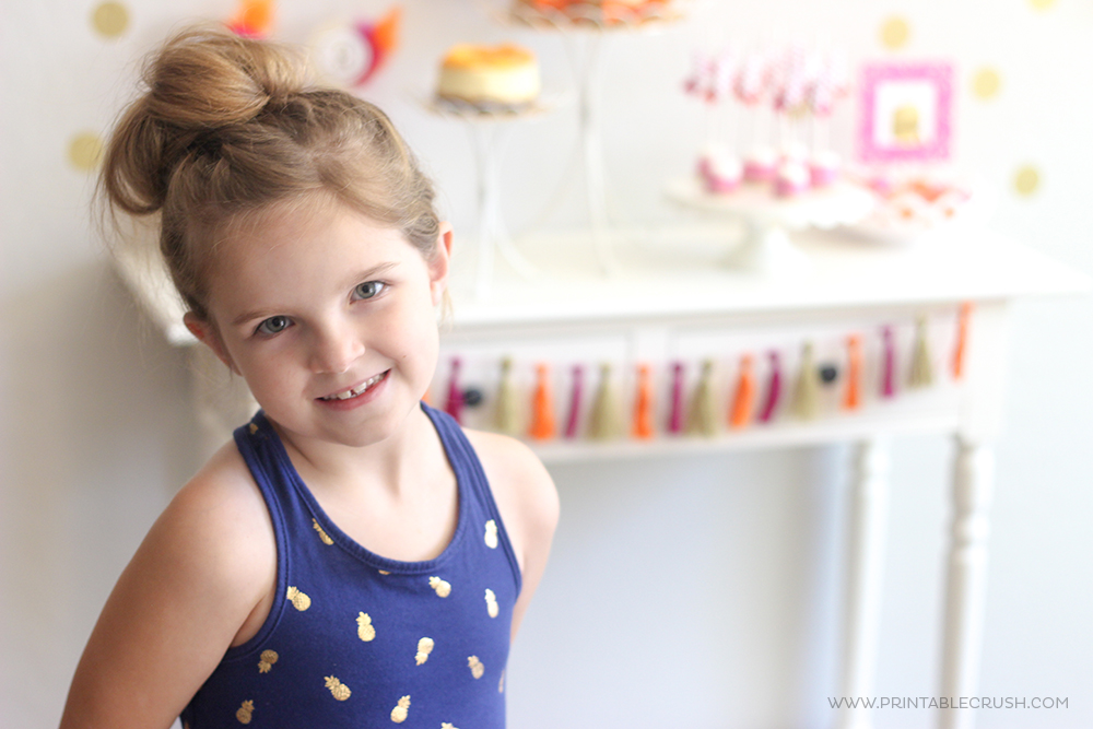 If your daughter is into all things girly and pink, you'll need these Girl Birthday Party Ideas! This party is so pretty and colorful and simple to put together!