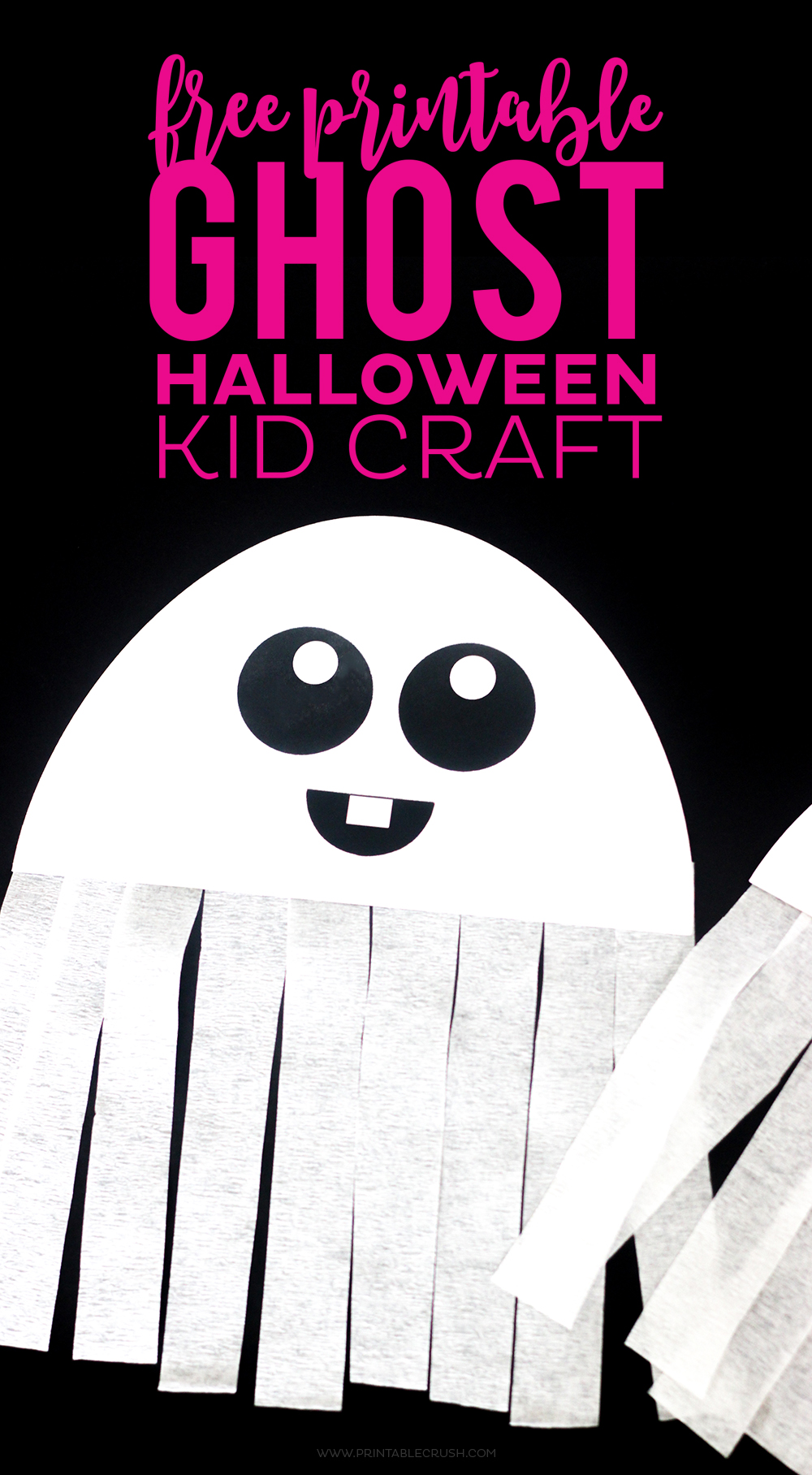 Accomplished image throughout halloween crafts for kids+free printable