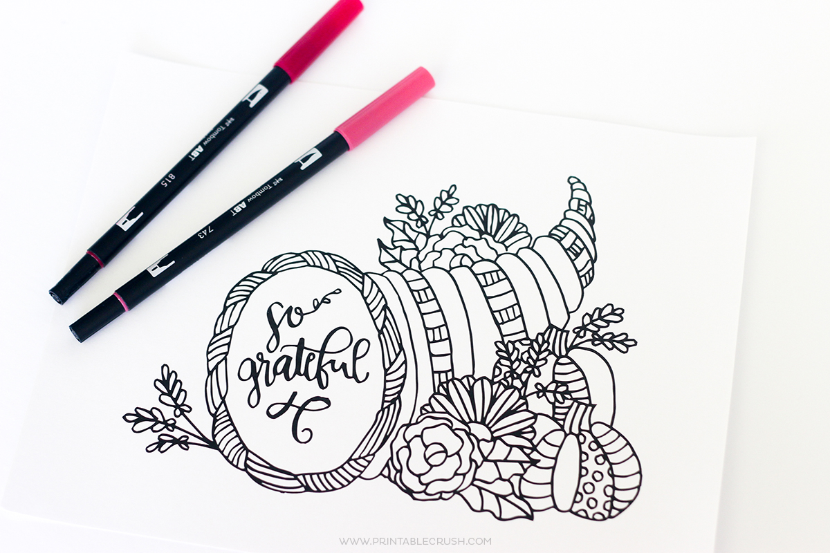 Free Printable Thanksgiving Coloring Pages You Need