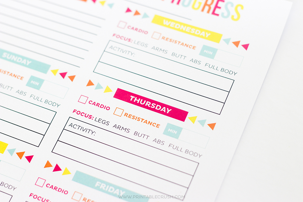 photograph relating to Printable Workout Calendar referred to as Exercise session Calendar - Totally free Printable Routine/Breakthroughs Sheets