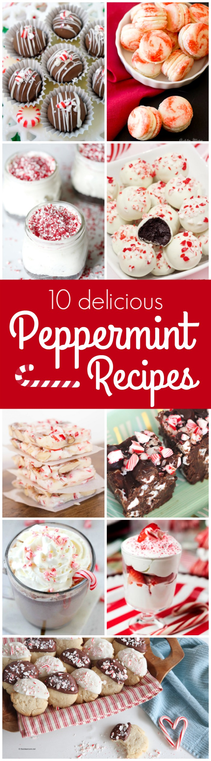 Get in the Christmas spirit with these Delicious Peppermint Recipes!