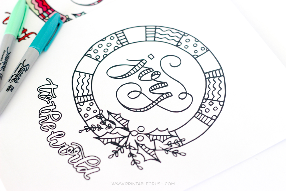 Print Off Some Of These FREE Printable Christmas Coloring Page For A Fun Activity Kids