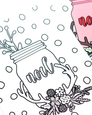 Learn to Create Christmas Coloring Book in Photoshop in this AMAZINGLY easy tutorial. You'll be able to create gorgeous pages using already made graphics.