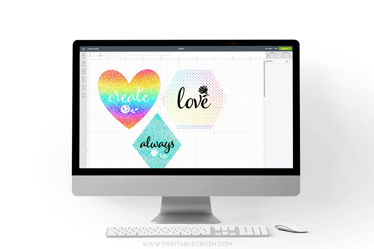 Getting Started in the NEW Cricut Design Space - Printable Crush
