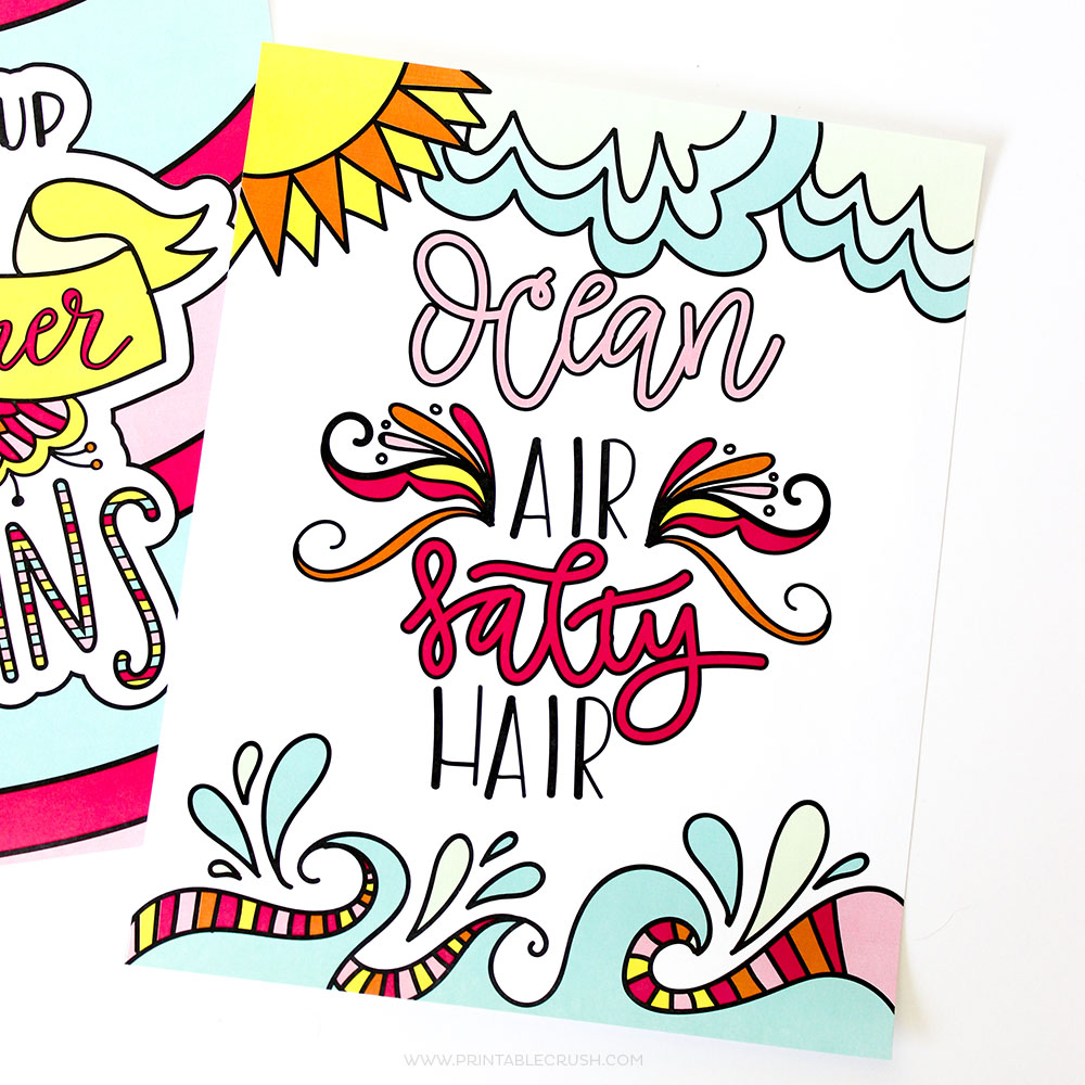 23 Fun Summer Coloring Pages- so many fun coloring ideas on PrintableCrush.com