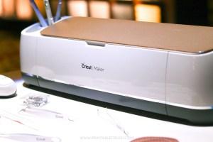 The brand new Cricut Maker on desk