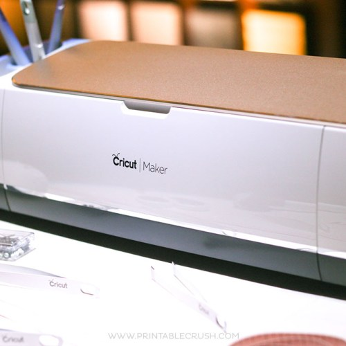 The brand new Cricut Maker on desk