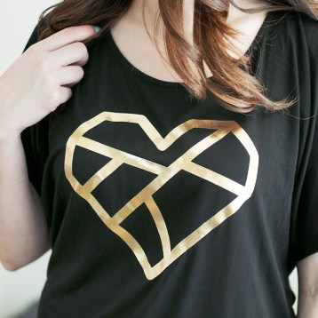 Printable Crush Luxe Tee Shirt Line. Comfortable enough to wear at home, and pretty enough to wear out on the town!
