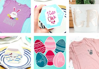 Whip out your cutting machine, because we've got 7 Creative Spring SVG Craft Ideas you're going to love - from t-shirts to spring home decor.