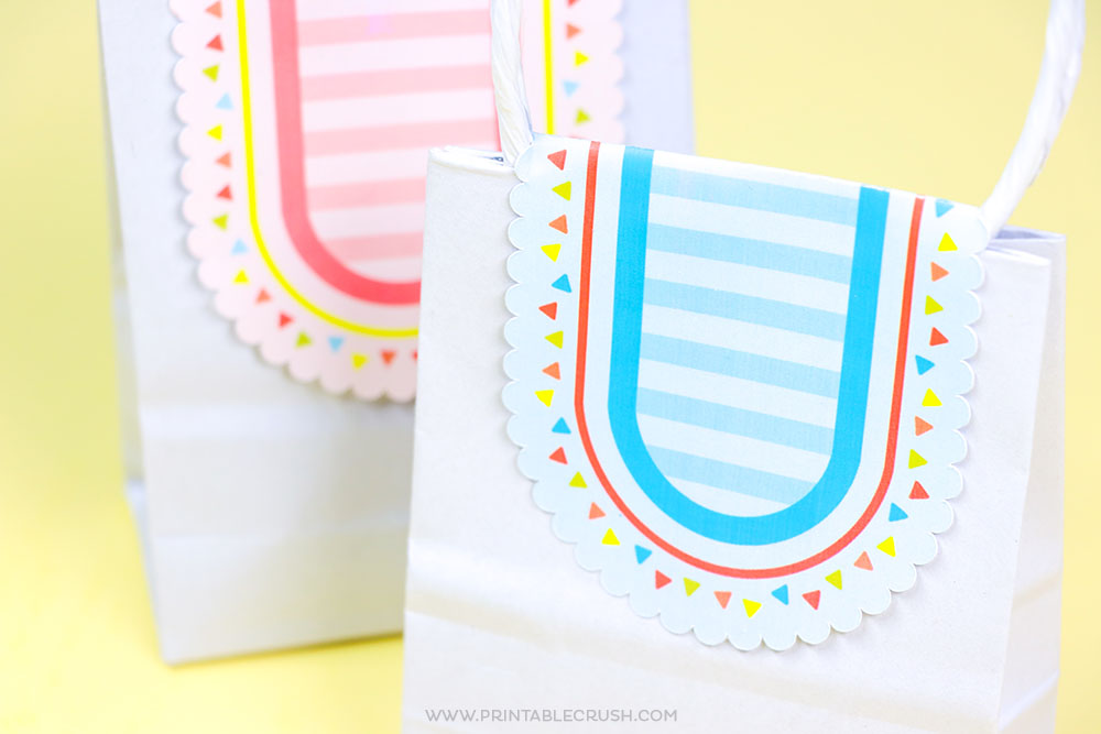Easily make printable gift tags using any SVG File with your Cricut