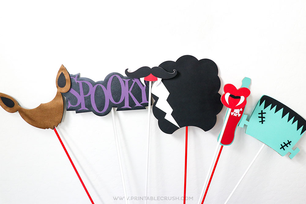 Make Monster Photo Props with the Cricut Maker