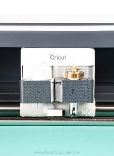 The Cricut Scoring Wheel makes a deeper paper line for easy folding! Perfect for all your paper craft projects.
