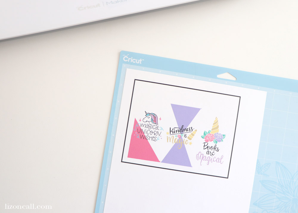 Use the print and cut setting on your Cricut to make these adorable Unicorn Tassel Bookmarks!