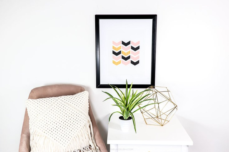 Use SnapeZo Frames to Display Kid's Artwork -Over 20 fun Cricut Kid Craft