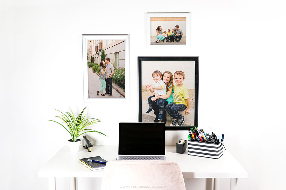 You can use Snapezo frames for family pictures too - if you have a hard time choosing what family pictures to display - worry no more! Switch out as often as you like!