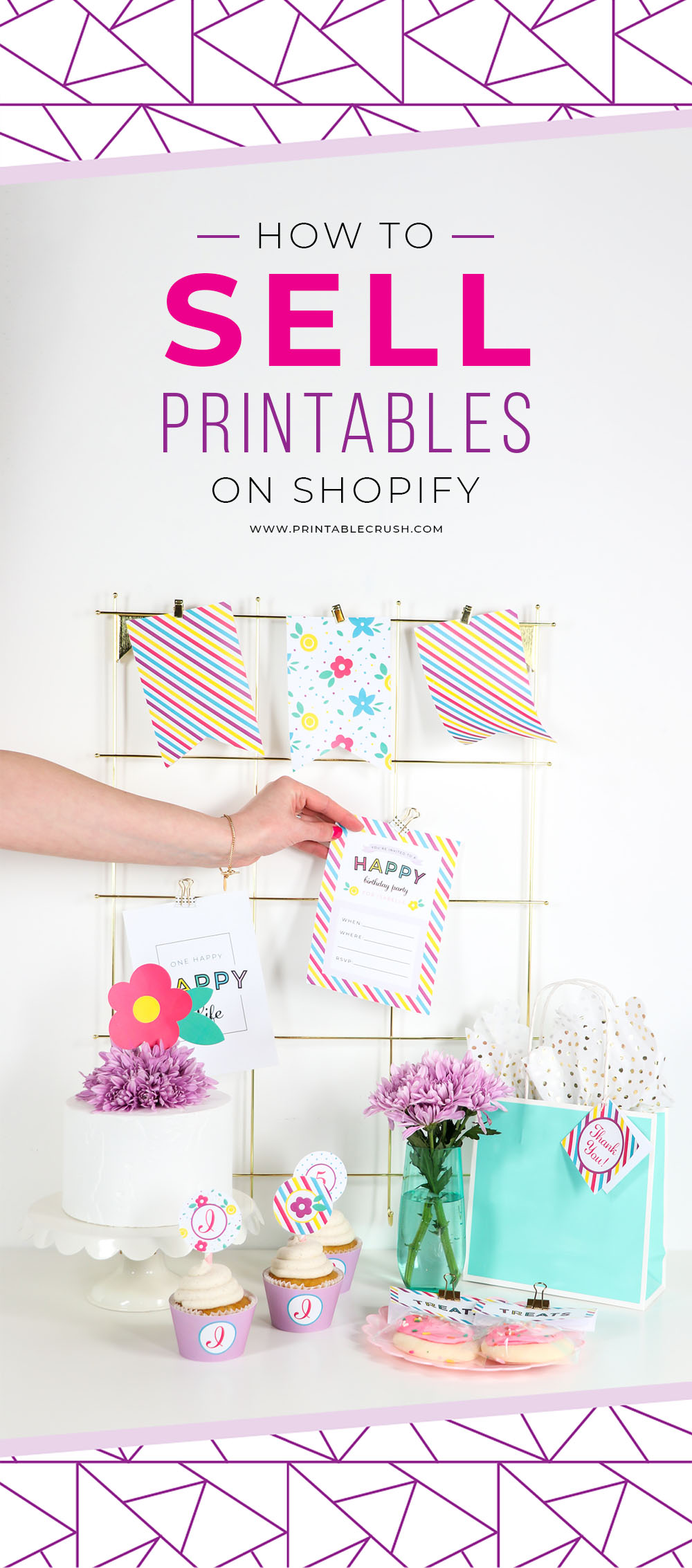 Create your printables in Adobe Illustrator then learn how to sell printables on Shopify to earn extra cash!