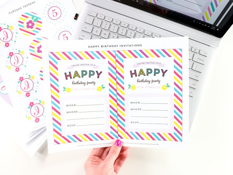 Learn how to design printables with the Printable Design for Beginners Course!