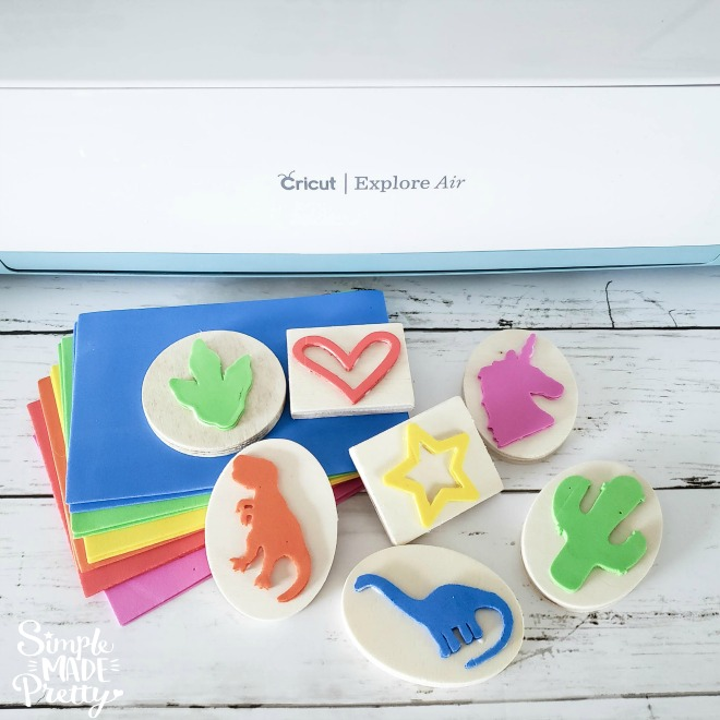 How To Make Stamps Using Cricut
