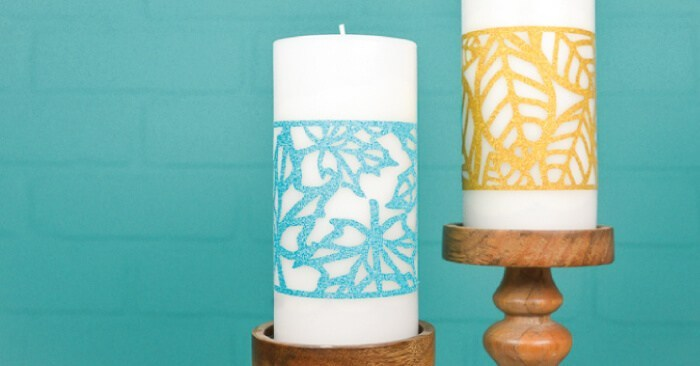 Fall Candle Wraps - SVG Download