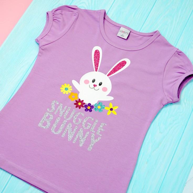 Snuggle Bunny Easter SVG File
