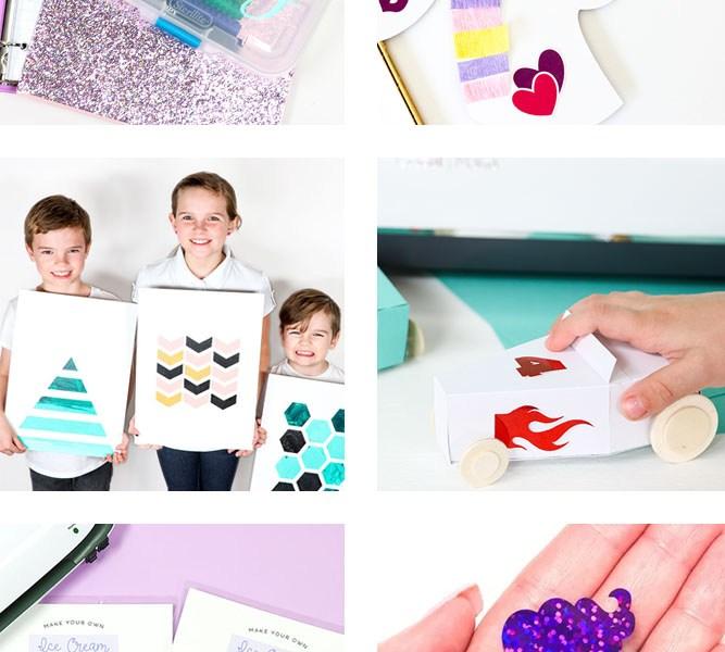 Cricut Kid Crafts