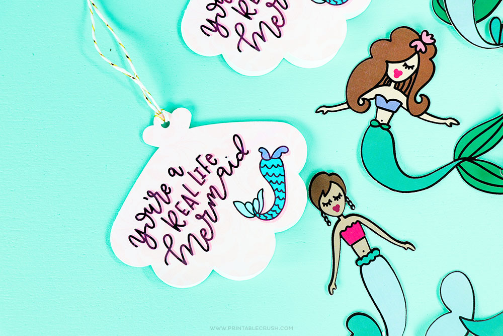 A Real Life Mermaid Gift Tags – Free Download
