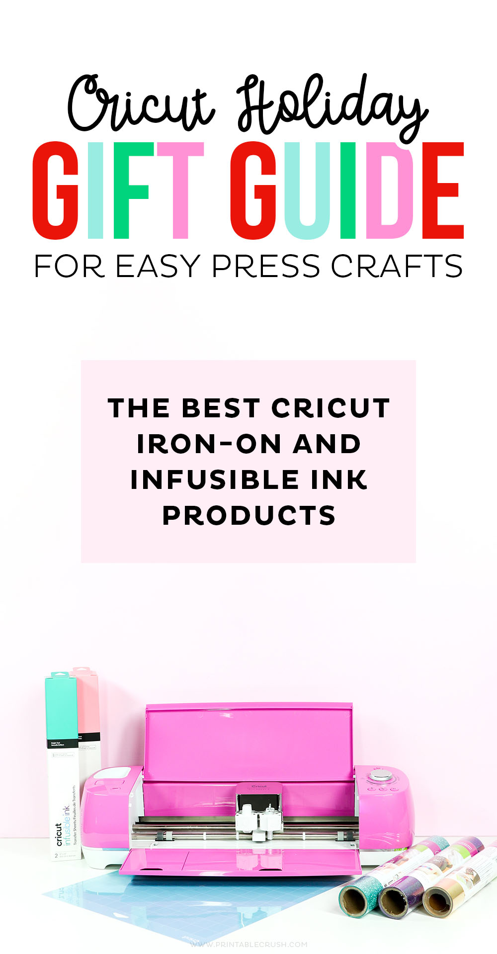 Holiday Gift Guide for Cricut Easypress 2 Crafts