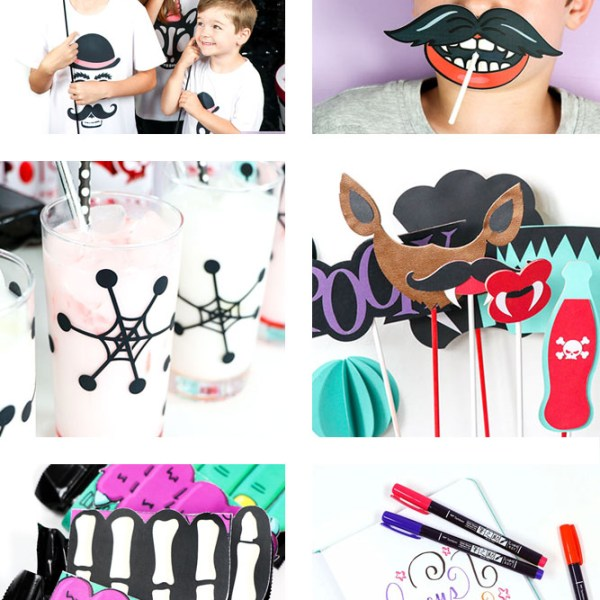 Over 50 Halloween Printables, Party and Craft Ideas