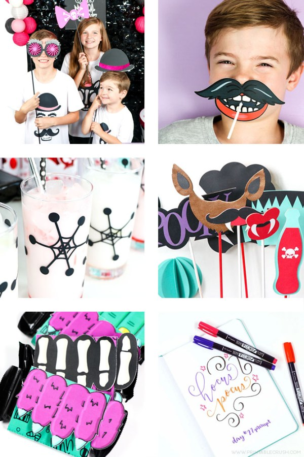 Over 50 Fun Halloween Printables, Crafts, and Party Ideas