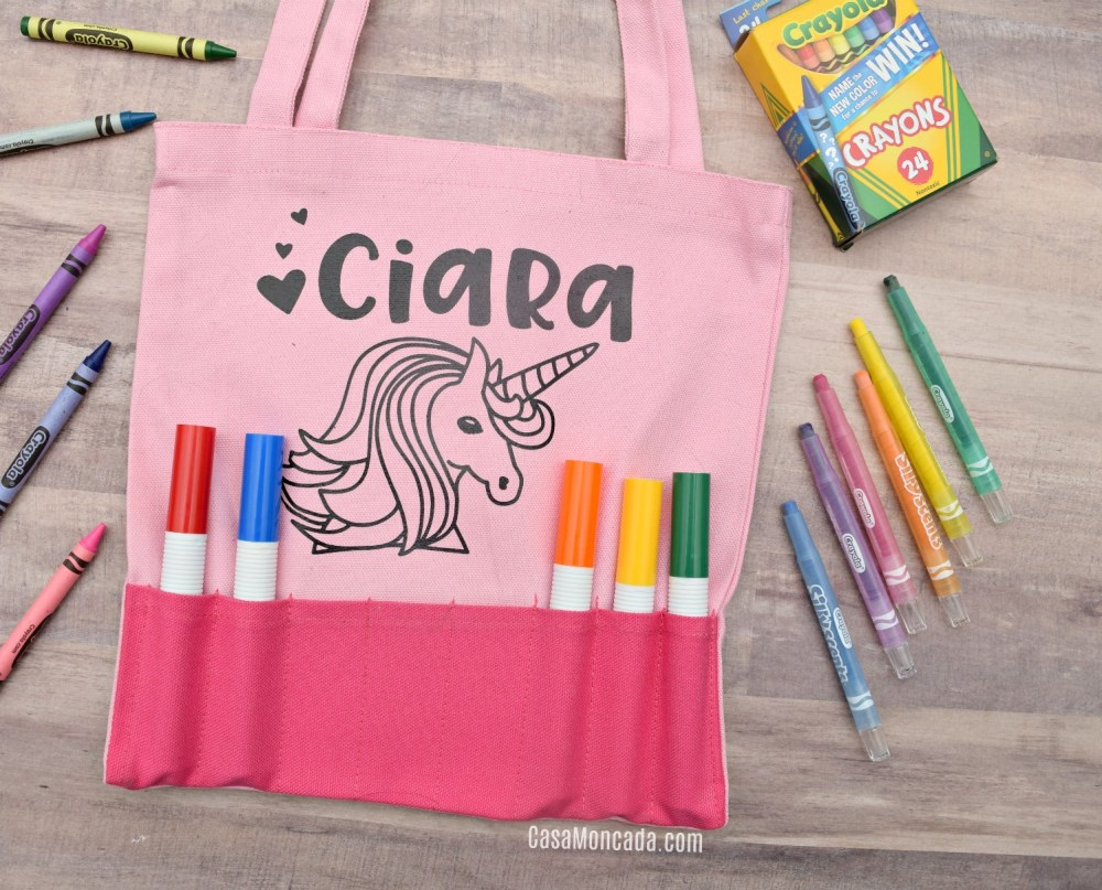 Crayon Tote Bag Gift