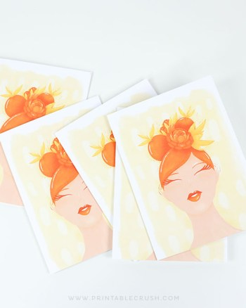 The Orange Lady Illustration by ERin Williams