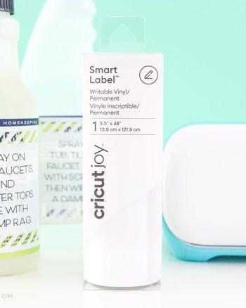 Create labels with the Cricut Joy
